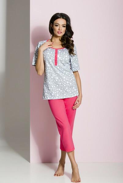 Dámské pyžamo Regina 824 S-XL kr/r