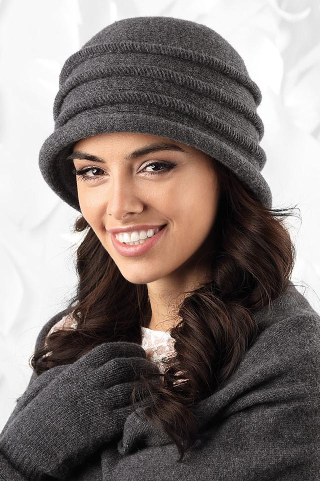 Dámský klobouk Kamea Palermo - UNI - černá