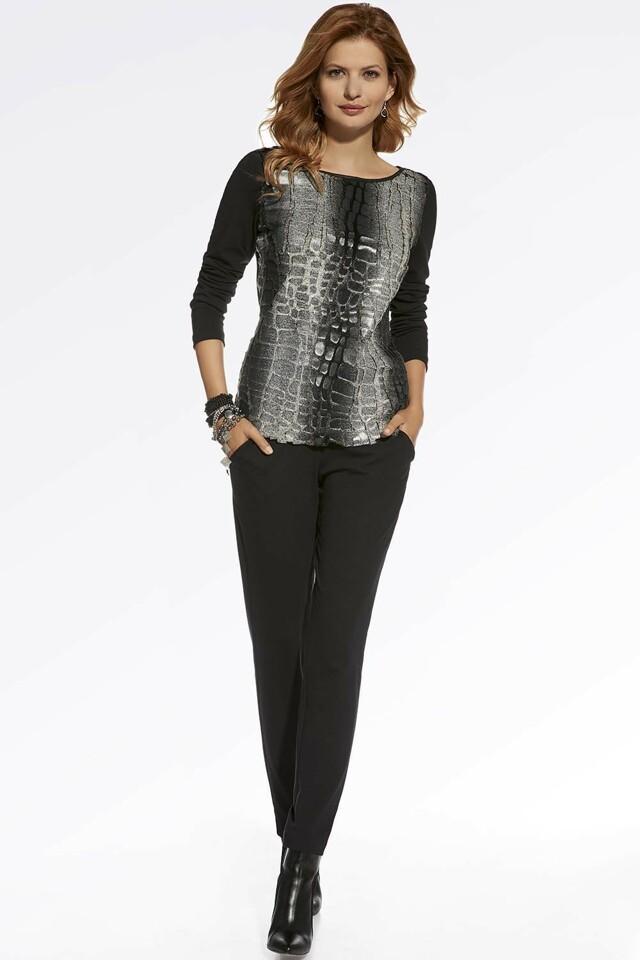 Dámské kalhoty Ennywear 220017 - 46 - černá