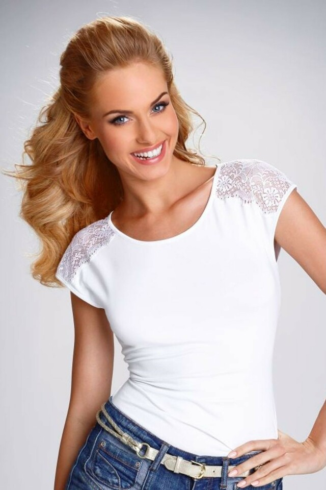 Dámské tričko Tosca white