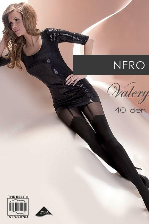 Dámské vzorované punčochové kalhoty Gabriella Valery Code 260