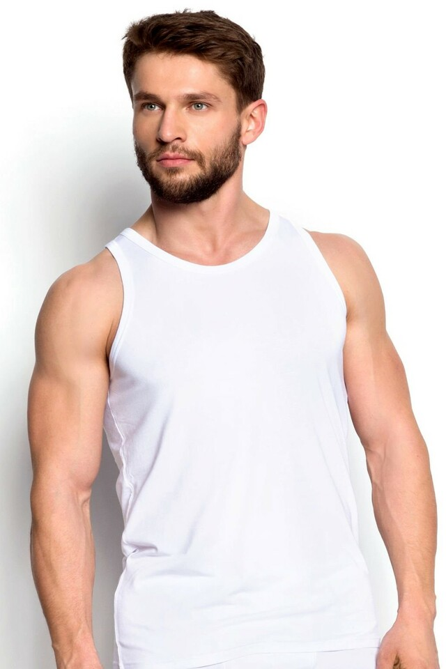 Pánský nátělník 34323 white