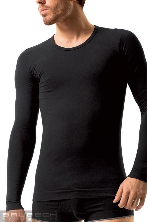 Pánské tričko LS 01120 Long sleeve black