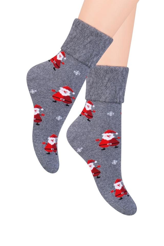 Dámské ponožky Steven 030-19 - 35-37 - šedá mikuláš aa14c0686b