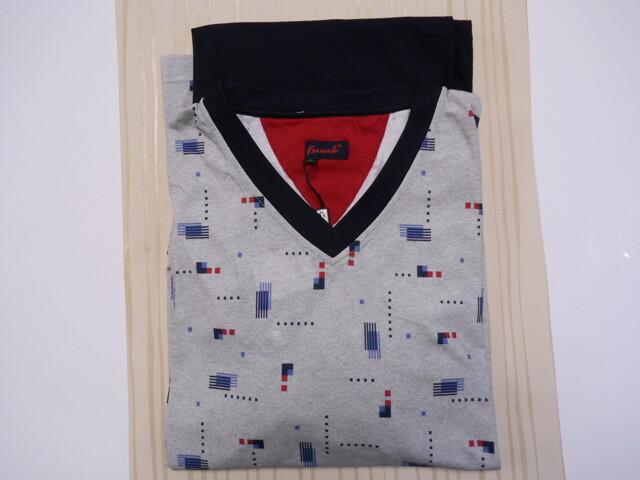 Pánské pyžamo Reson DR V - Favab - M - šedá