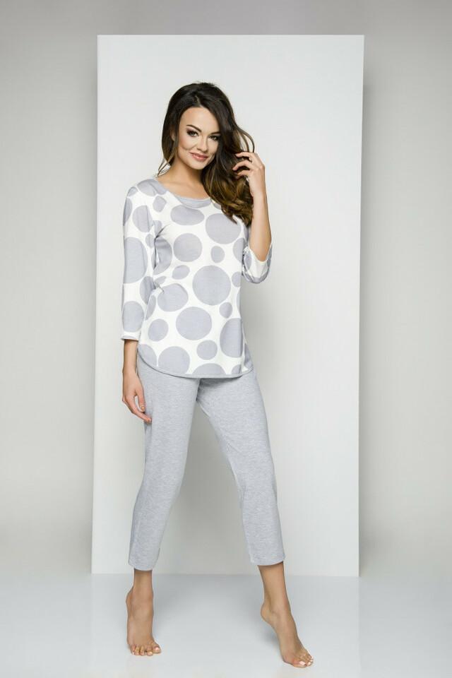 Dámské pyžamo Regina 843 S-XL dł/r