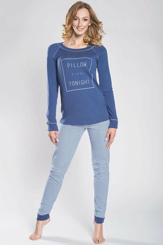 Dámské pyžamo Italian Fashion Renoma - XL - jeansová