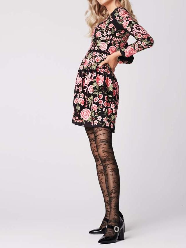 Dámské punčochové kalhoty Fiore G5914 Frida 30 Den - 4-L - černá