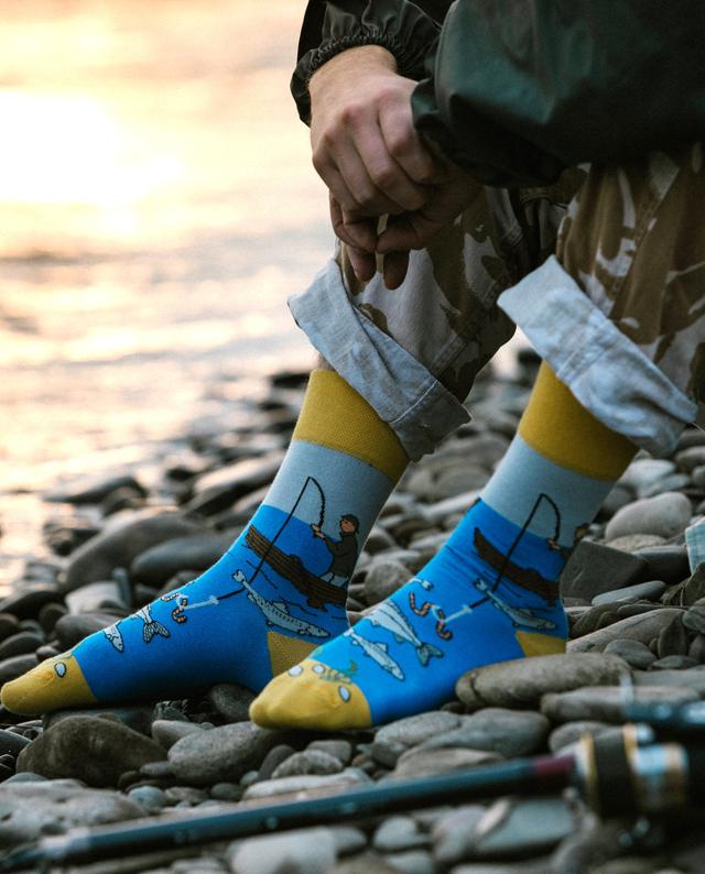 Ponožky Spox Sox - Rybář - 36-39 - multicolor
