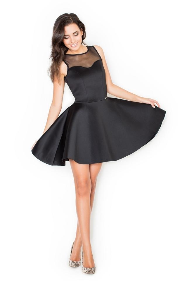 Dámské šaty K238 black
