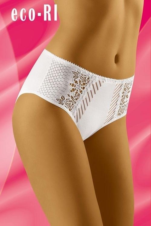 Dámské kalhotky eco-RI white - XL - bílá