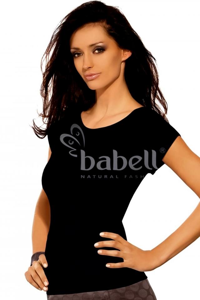 Dámské tričko Kiti plus black - BABELL - 3XL - černá