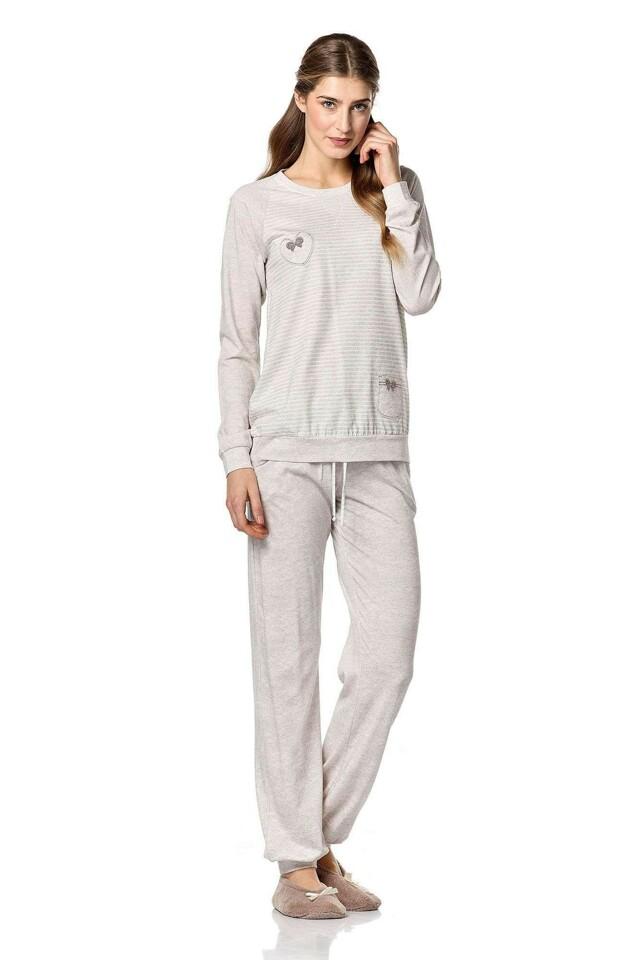 Dámské pyžamo 4743 - Vamp - L - béžová