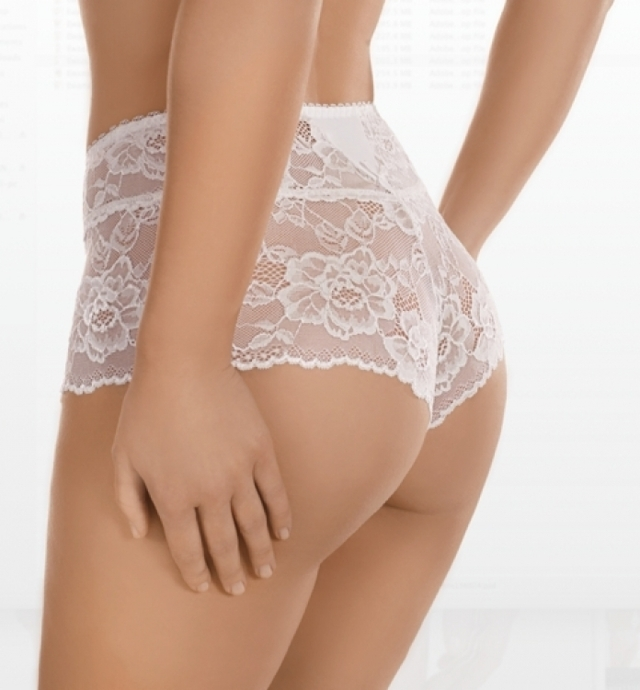 Dámské kalhotky 63 white - XL - bílá