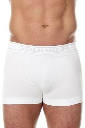 Pánské boxerky Brubeck Comfort Cotton bílé - XXL