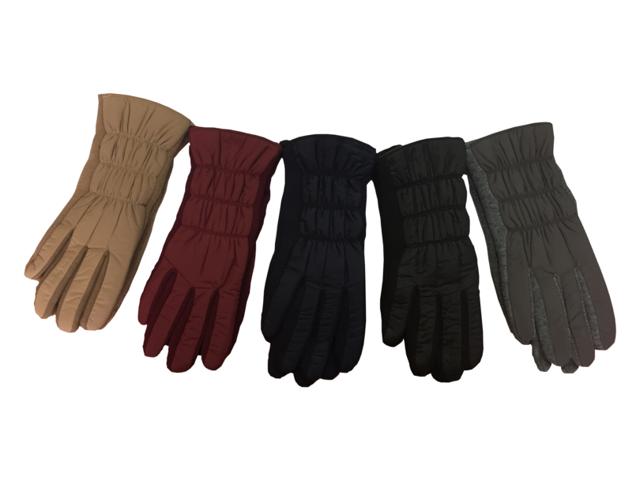 Dámské rukavice LUX 5692907 - RISOCKS - L/XL - BORDÓ