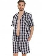 Pánské pyžamo KR/KN 50090 - Jockey - L - proužky