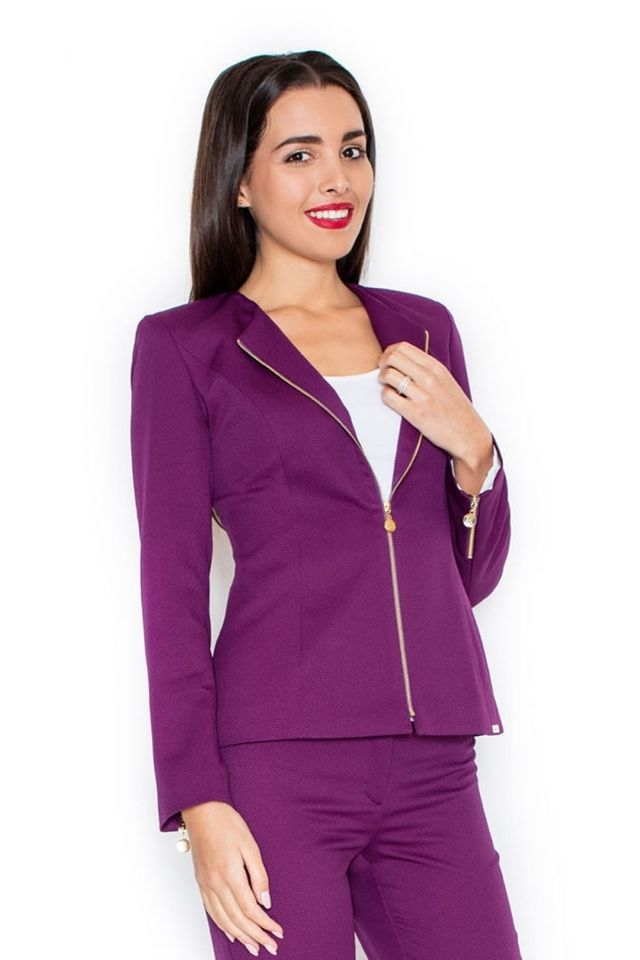 Dámské sako K301 violet