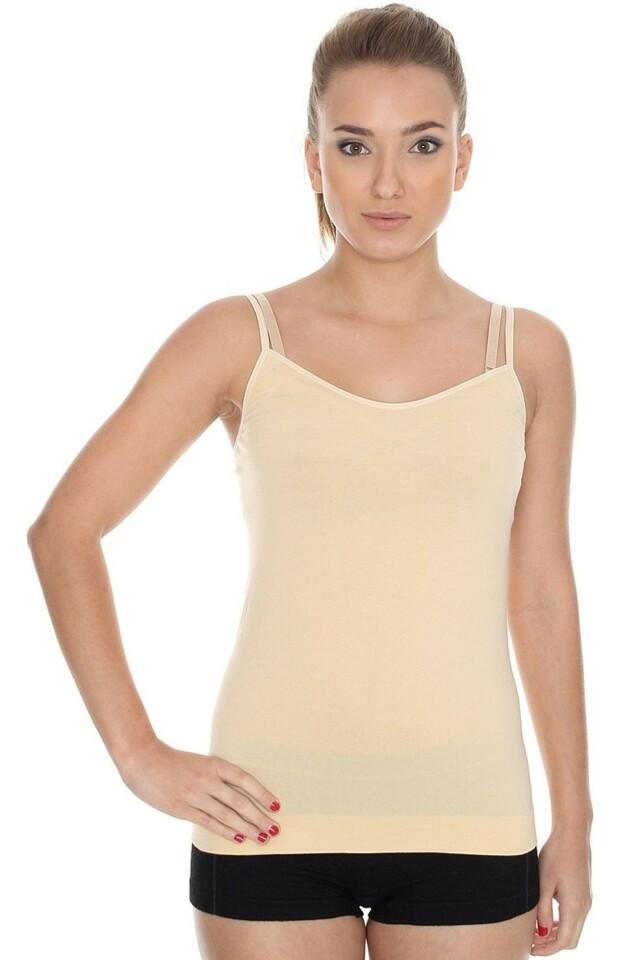 Dámská košilka CM 00210 Camisole beige - M - béžová