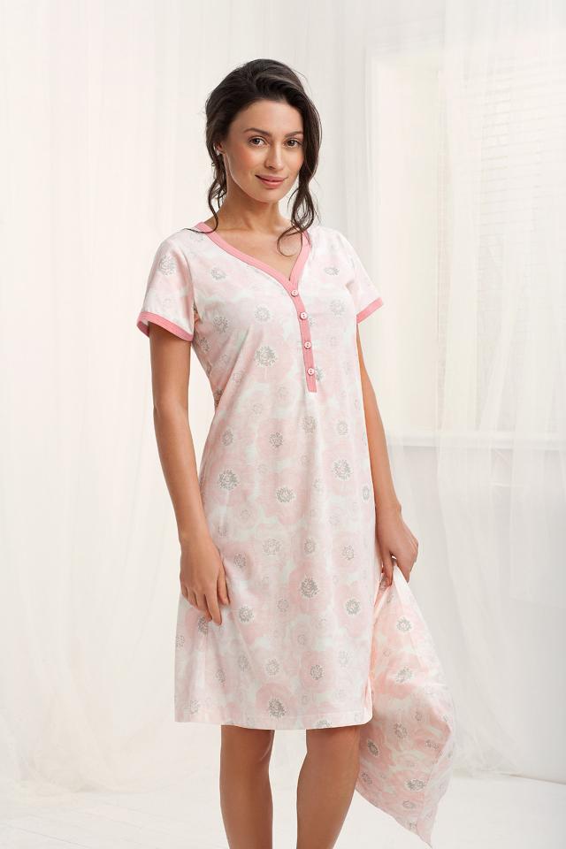 Dámská noční košile 172 Luna - XL - lososová