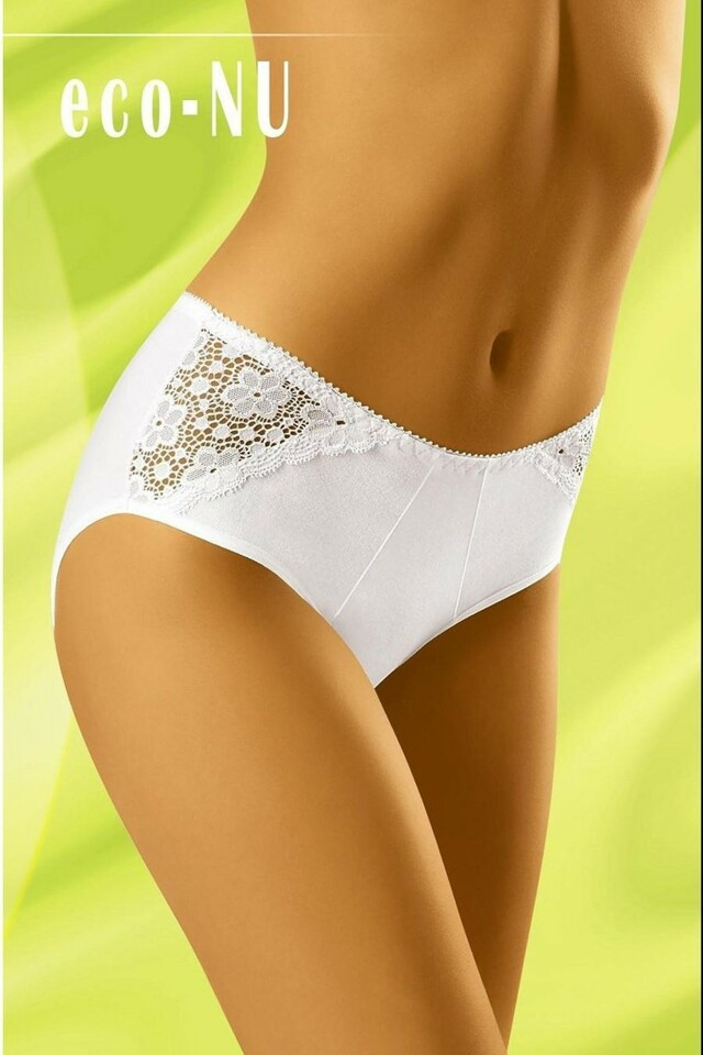 Dámské kalhotky eco-Nu white - XL - bílá