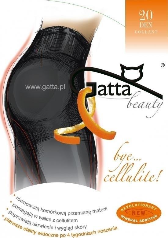 Punčochové kalhoty Beauty Bye Cellulite 20 DEN - Gatta - 2-S - černá