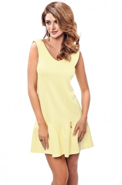 Dámské šaty Enny 190050 - 38 - žlutá