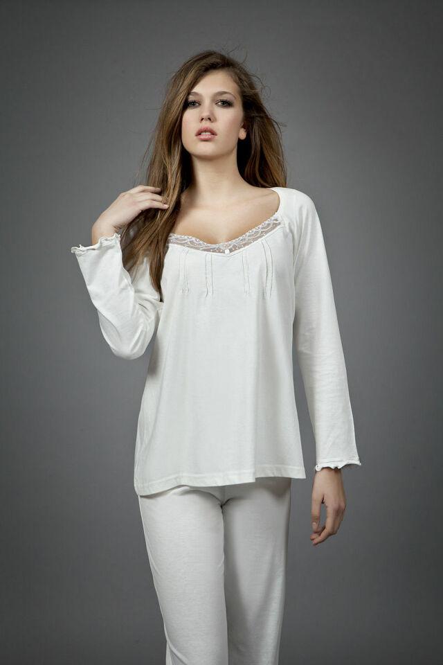 Dámské pyžamo 1454 - Vamp - XXXL - hnědá