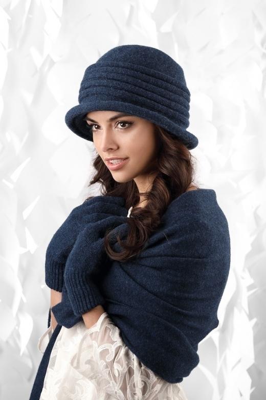 Dámský klobouk model 163146 tmavě modrá - Kamea - uni - tmavě modrá