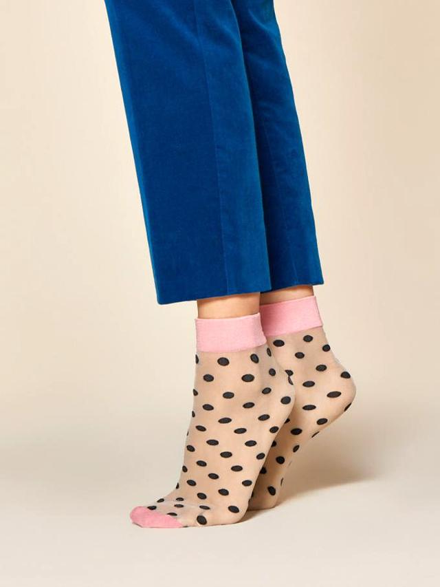 Dámské ponožky Fiore G 1043 Dot Game