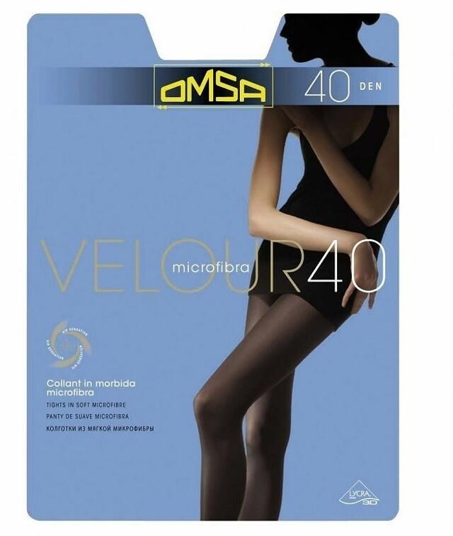 Punčochové kalhoty Omsa Velour 40 den
