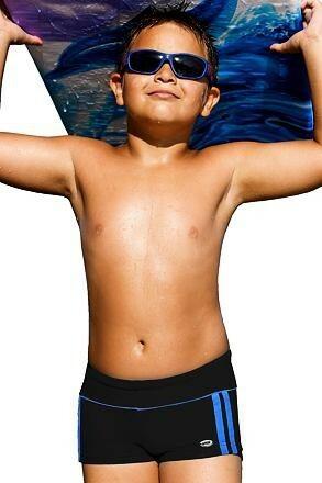 Plavky chlapecké Jirka černé - 122