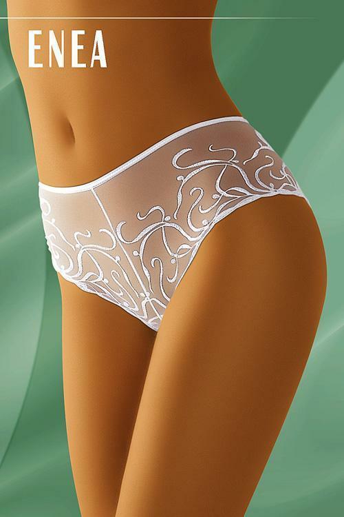 Dámské boxerky Enea white - S - bílá
