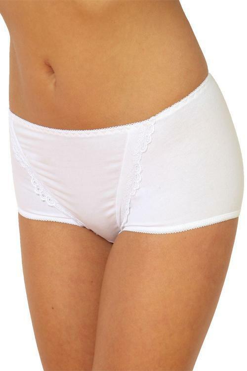 Dámské kalhotky 108 white - XXL - bílá