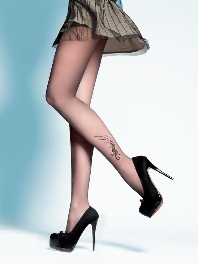 Dámské punčochové kalhoty Gabriella Polina 315 20 den - 2-S - černá