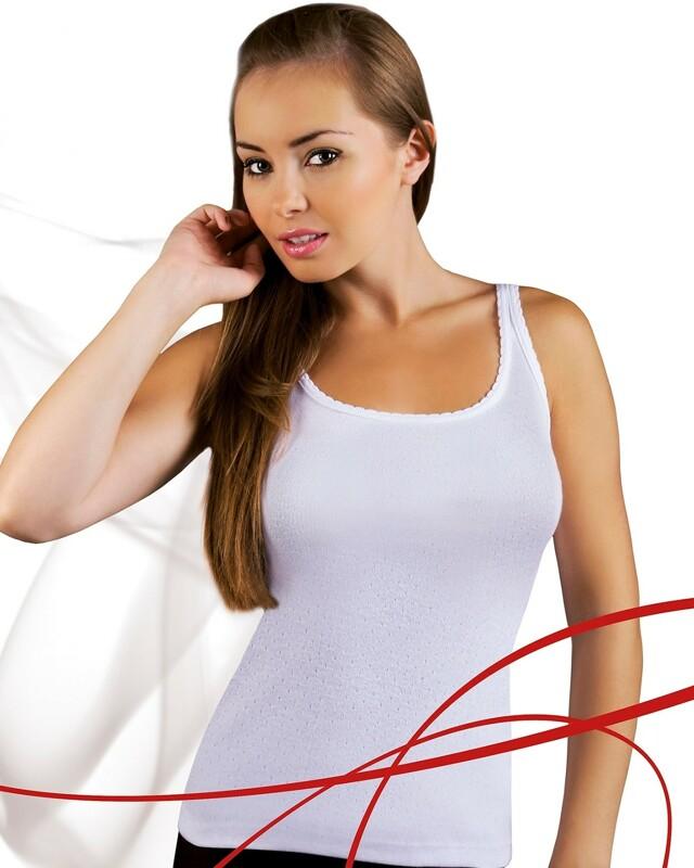Košilka Emili Mania S-XL bílá