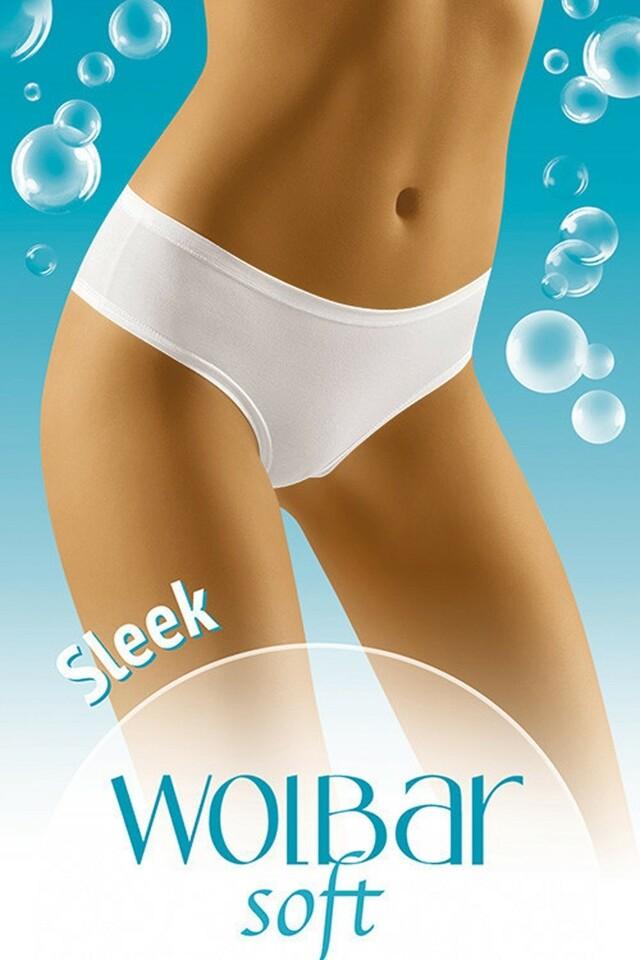 Dámské kalhotky Sleek soft white - S - bílá