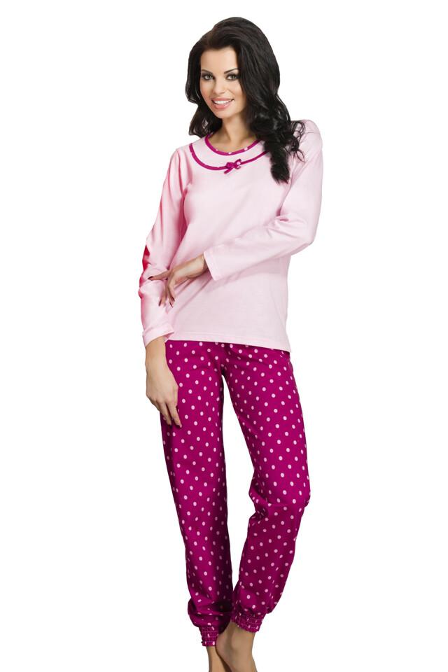 Dámské pyžamo Ismena růžové - L