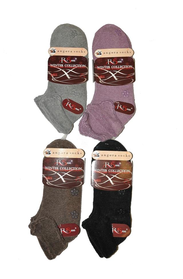 Dámské ponožky RiSocks Angora Haft ABS art.2478347 - - hnědá