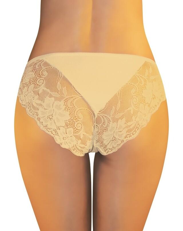 Dámské kalhotky Funny Day Rosalie - XL - béžová