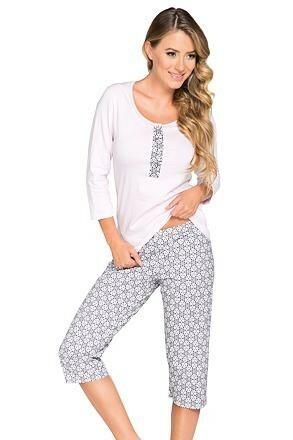 Dámské pyžamo Aida růžové - 3XL
