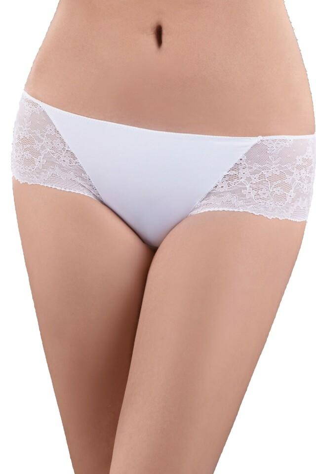 Dámské kalhotky 19 white - M - bílá