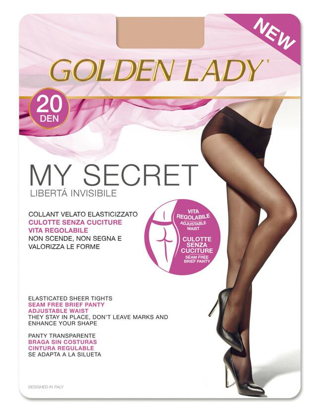 Punčochové kalhoty My secret 20 den - Golden Lady