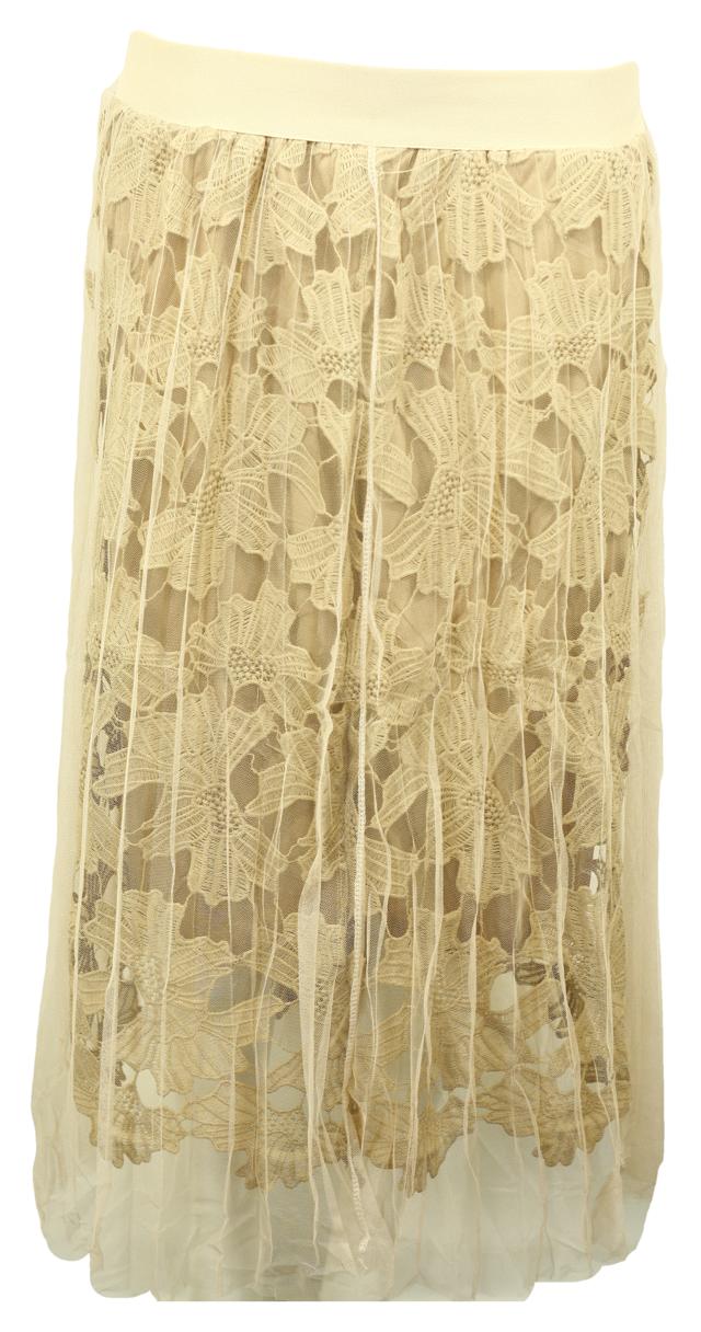 Společenská sukně tylová 9180 - Gemini - uni - černá