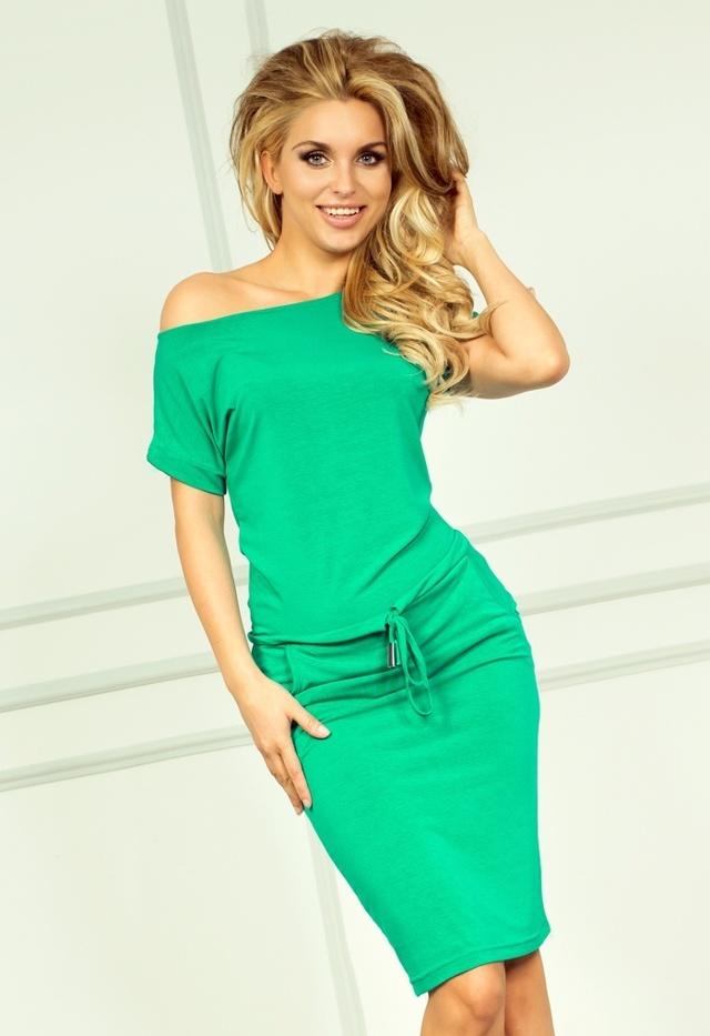 Neonově zelené sportovní šaty 56-2