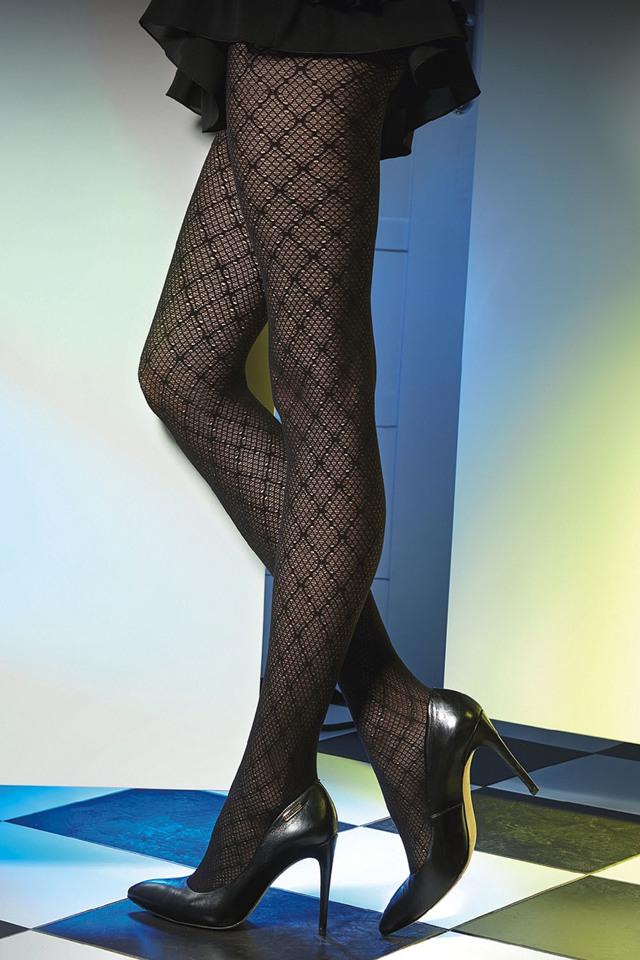 Punčochové kalhoty Gatta Est belle 01 - 2-S - nero