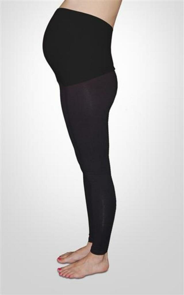 10ec7102c93 Těhotenské legíny Mama LC05 - BAK - jeans - L