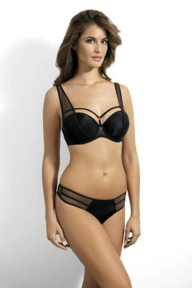Push-up podprsenka PU-427 ONYX - KINGA