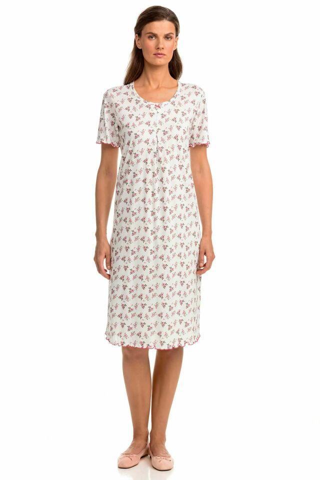 Dámská noční košile Vamp 14004 - L - bílá