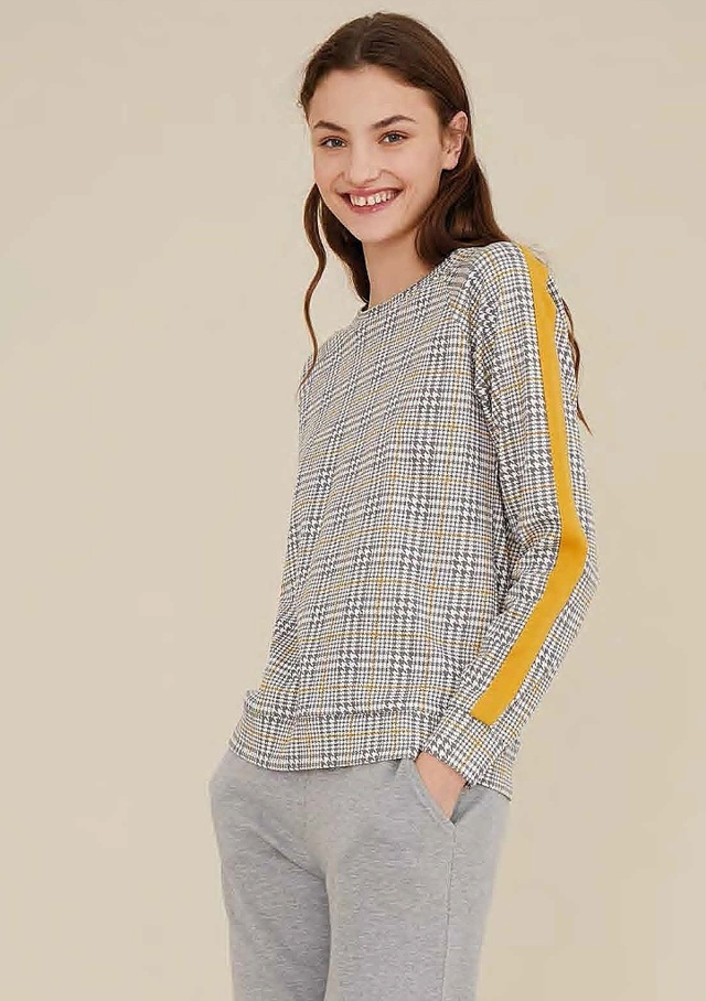 Dámské pyžamo Noidinotte FA7190 - L - Šedá